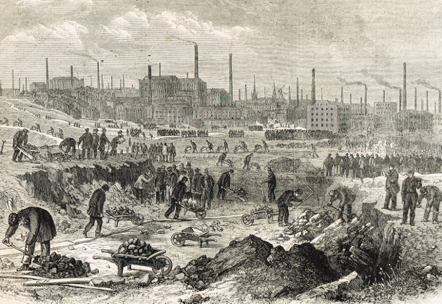 preston cotton famine