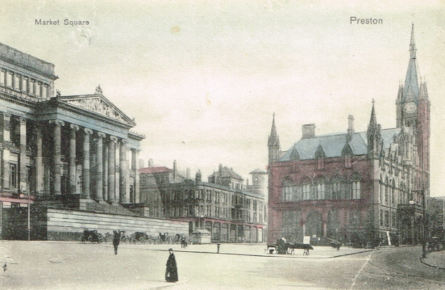 Preston 1904 flag market
